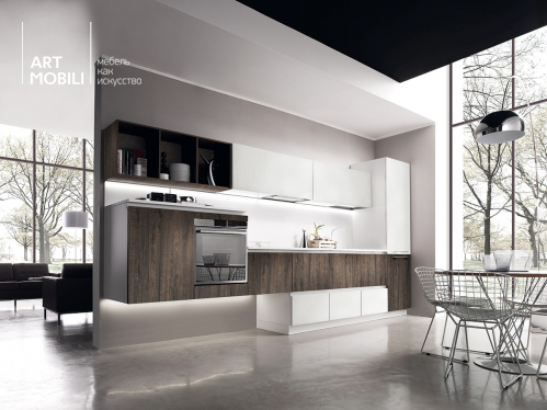 Miton Cucine, Кухня Sincro Wood