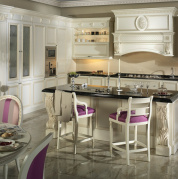 Белая кухня Venecia Elegance kitchen