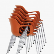 Стул HAL Armchair Tube Stackable